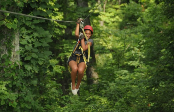 zip line adventure camp