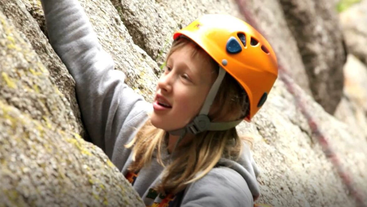 Rock Climbing at Summer Therapy Camp