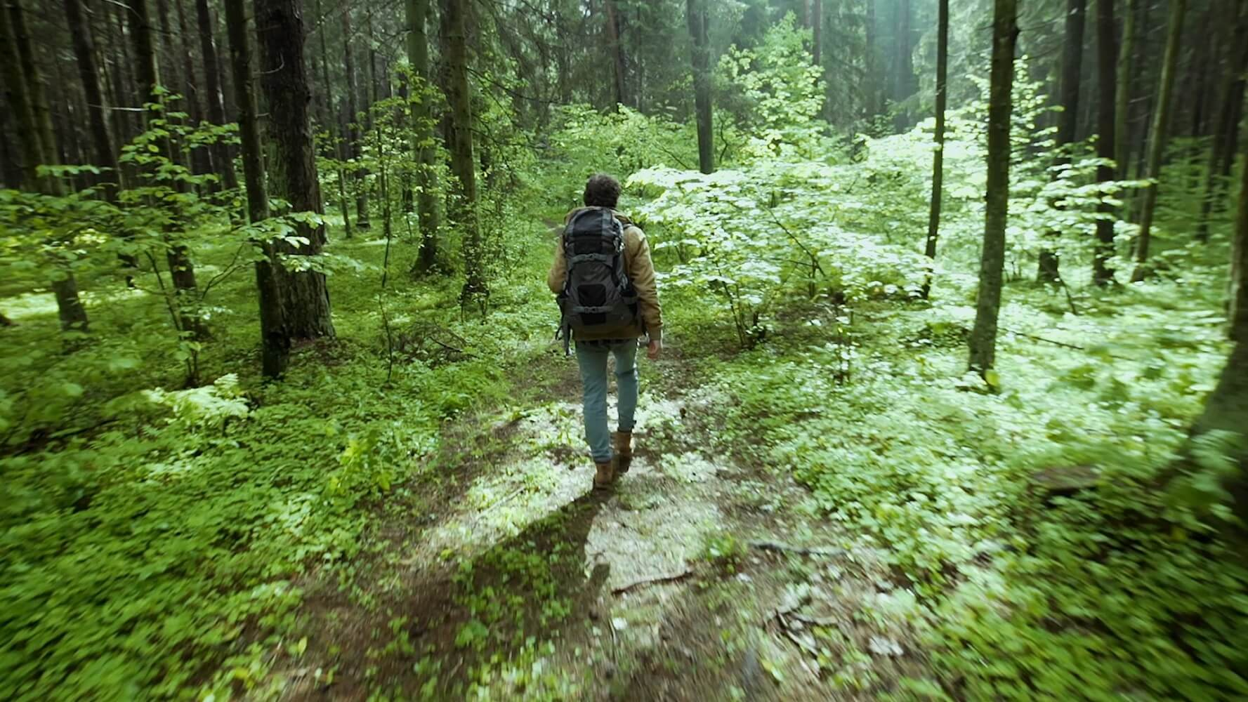 video game addiction boot camp hike